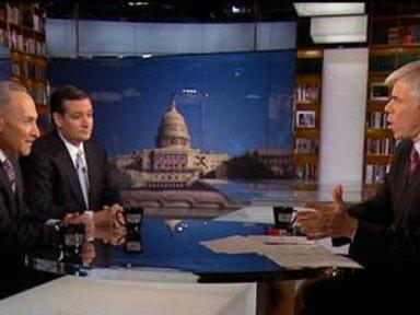 Sens. Cruz, Schumer Square Off On Debt Debate