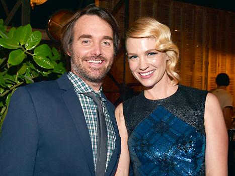January Jones Dating Will Forte: Details on the New Costar Couple!
