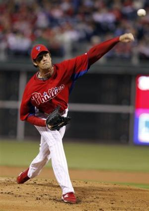 Hamels pitches Phils past Pirates 7-2