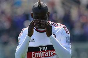 Milan's Mario Balotelli handed three-game ban