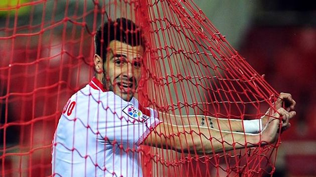 Sevilla forward Alvaro Negredo (AFP)