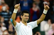 Novak Djokovic, Wimbledon Championships on July 2, 2012