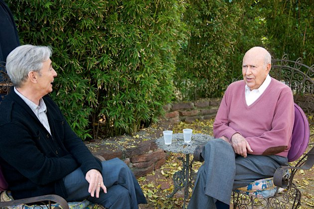 "David Steinberg and Carl Reiner as seen on ""Inside Comedy."""