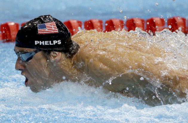 "Michael Phelps, el ""tiburón"" indomable"