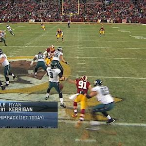 TNF Storylines: Kerrigan strip sack
