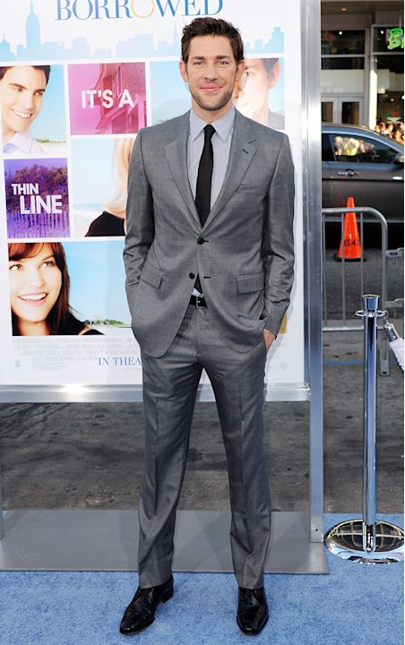 Something Borrowed LA Premiere 2011 John Krasinski
