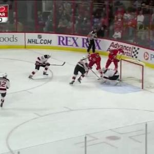 Keith Kinkaid Save on Andrej Nestrasil (14:03/2nd)
