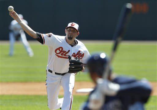 Price, Moore make debuts as Rays tie Orioles 7-7