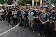 &lt;p&gt;Students chant slogans outside the finance ministry in Athens on October 12, during a demonstration to protest against the austerity measures and unemployment. Efforts to restore investor confidence in Greece&#39;s struggling economy took a double blow this week when a major European bottler and a prominent dairy company announced relocation plans.&lt;/p&gt;
