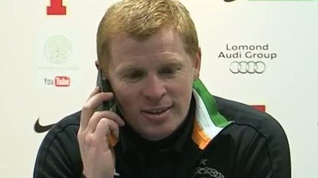 0126 - Neil Lennon's funny press conference