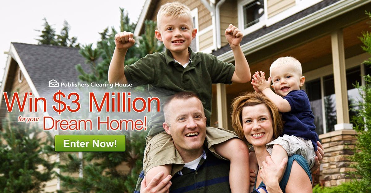 Win the Dream Home Sweeps