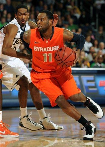 Cooley leads Irish to upset over No. 1 Syracuse