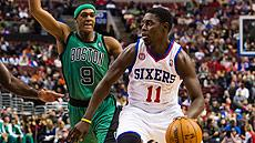Rajon Rondo and Jrue Holiday