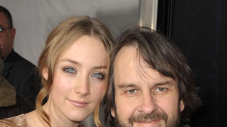 The Lovely Bones LA Premiere 2009 Saoirse Ronan Peter Jackson