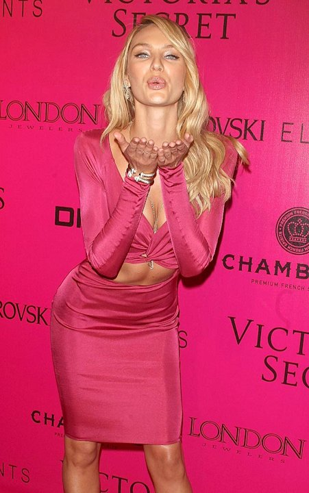 Candice Swanepoel VS Fashion Show After Party