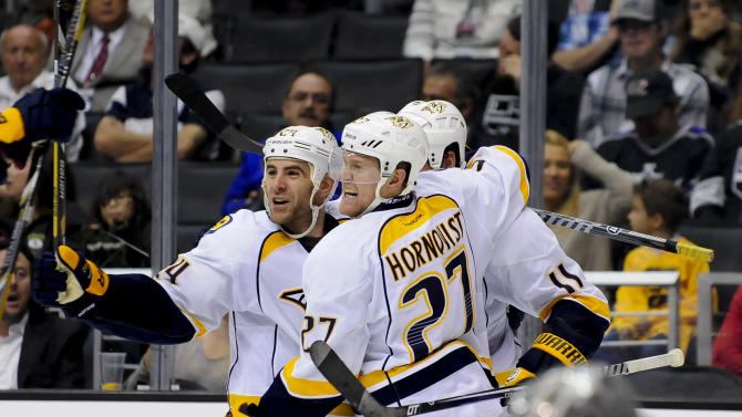 Legwand's 2 goals helps Predators beat Kings 4-3