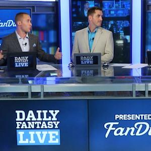 Daily Fantasy Live 7/1: Our lineups
