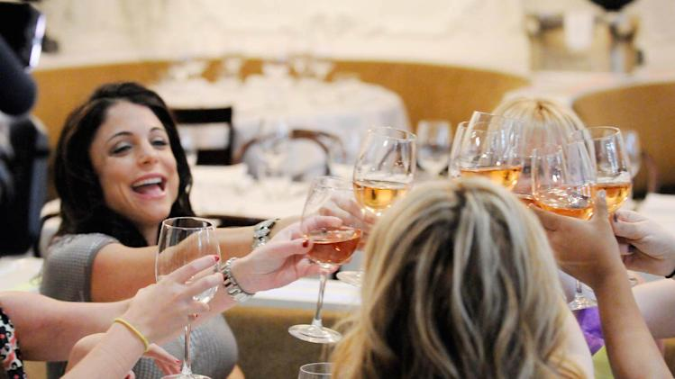 "Bethenny Frankel in the ""Bethenny's Wedding Shower"" episode on ""Bethenny's Getting Married?"""