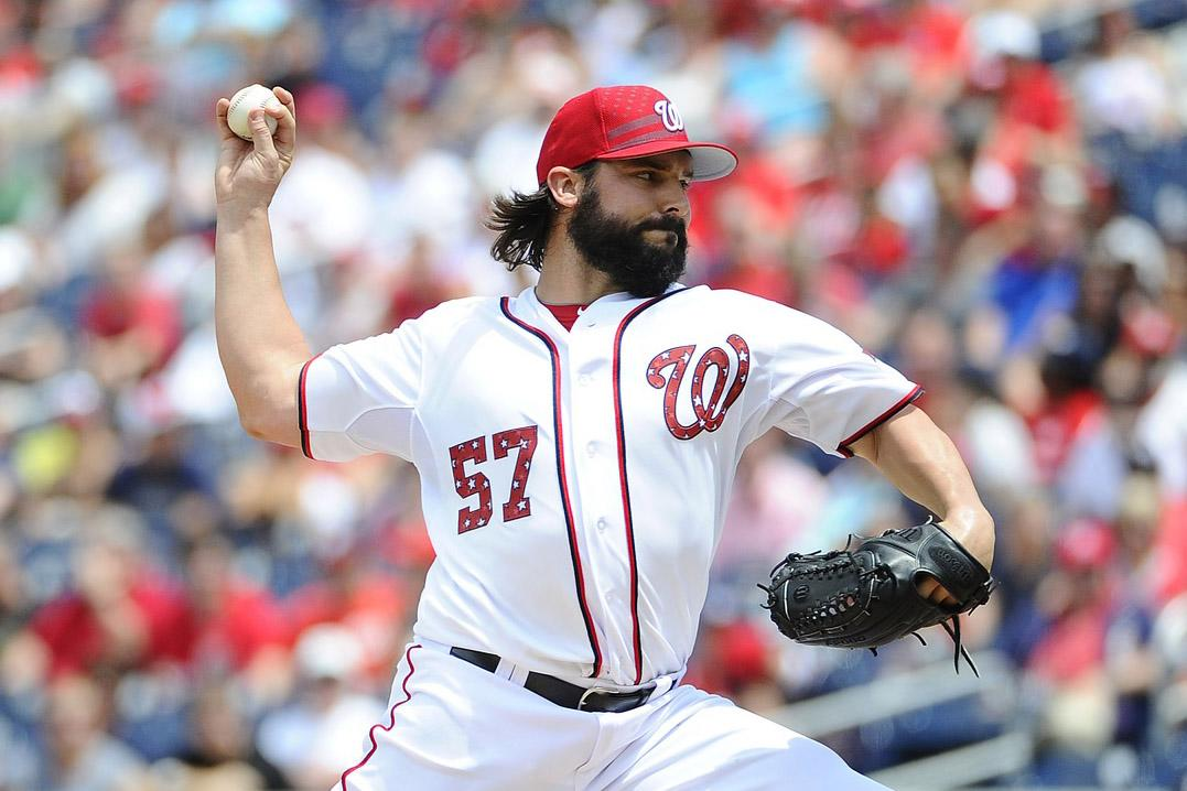 Roark on the mound as Nats look to continue dominance of Braves