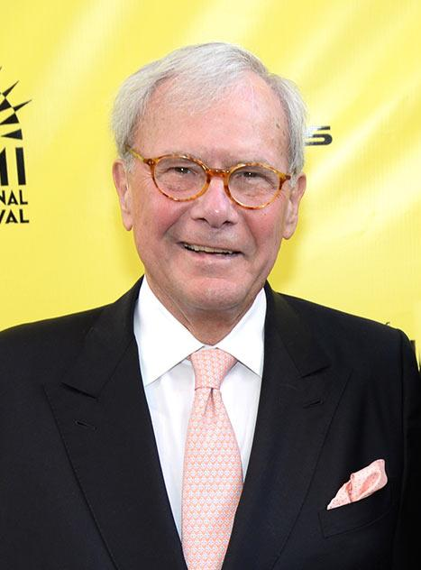 "Tom Brokaw's Cancer Is in Remission: ""I Face the New Year With Very Encouraging News"""