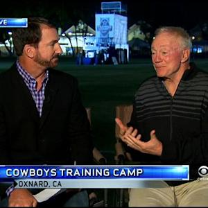 Babe Laufenberg's Interview With Jerry Jones