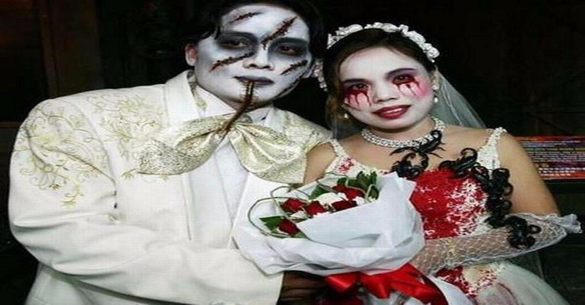 Most Bizzare Wedding Photos