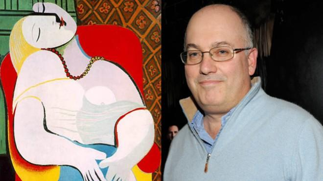 Hedge-fund Billionaire Steve Cohen is now the owner of this serene-looking lady, Picasso's Le Reve.