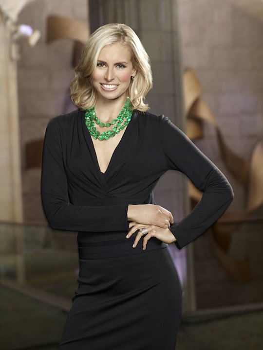 Niki Taylor competes in &quot;The Celebrity Apprentice.&quot; 