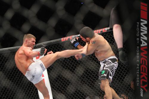 Daron Cruickshank Happy to Embrace the Boos and Win Fans Over at UFC 158
