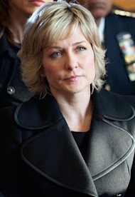 Amy Carlson, Blue Bloods | Photo Credits: Jojo Whilden/CBS