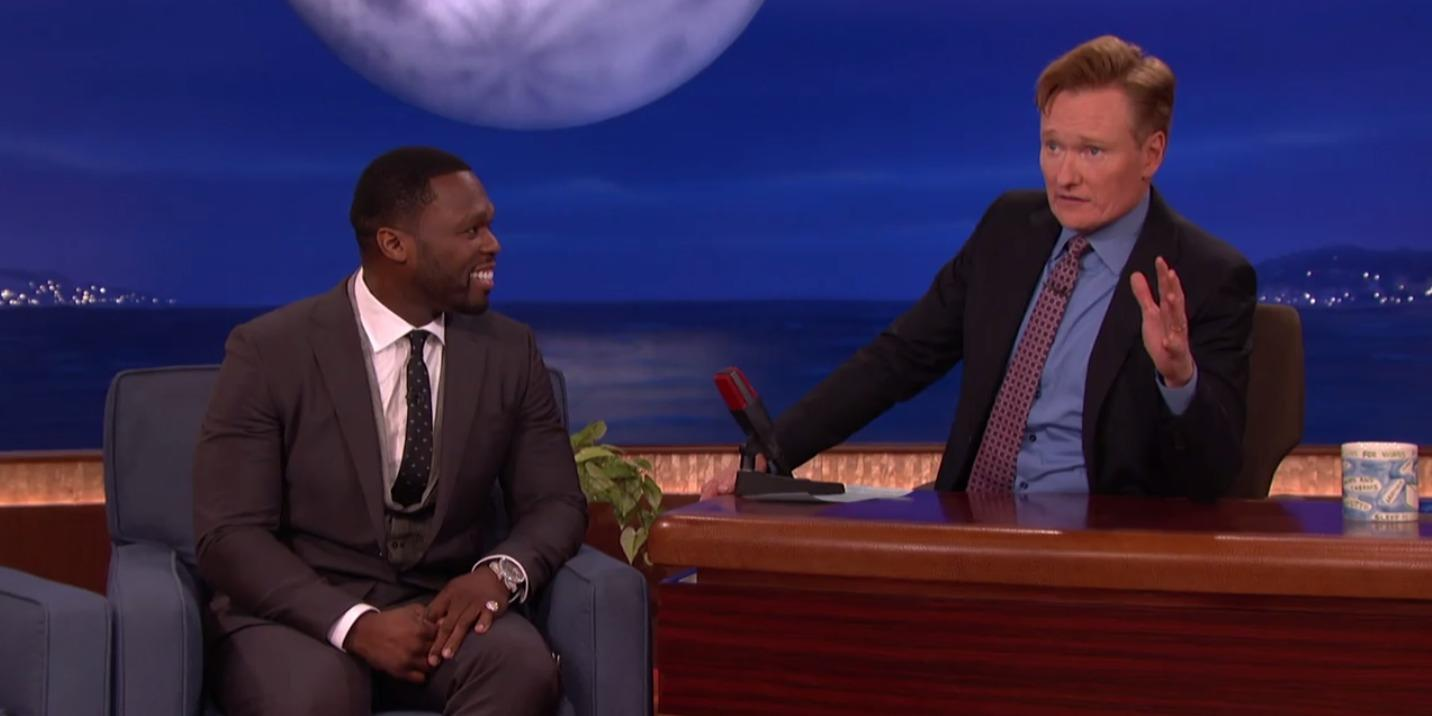 50 Cent's comments on 'Conan' are coming back to haunt him in court