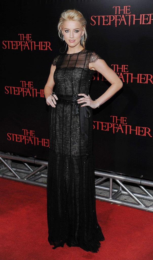 The Stepfather NY Premiere 2009 Amber Heard