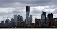 The lower Manhattan skyline, New York