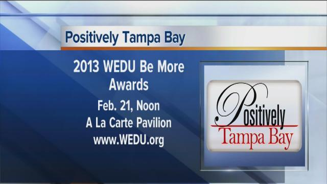 Positivey Tampa Bay:  2013 Be More Awards