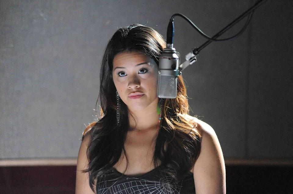 "This publicity photo provided by Pantelion Films shows Gina Rodriguez as Filly Brown in a scene from the film, ""Filly Brown."" The film releases on April 19, 2013. (AP Photo/Pantelion Films/Lionsgate, John Castillo)"
