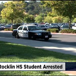 Rocklin High School Student Arrested For Bringing Gun To School