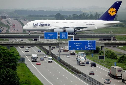 <p>Lufthansa, Germany's number one airline, said that it carried 10.15 million passengers in July, 2.1 percent more than during the same month last year.</p>