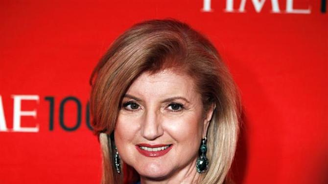 Arianna Huffington arrives at the Time 100 Gala in New York, April 24, 2012. REUTERS/Lucas Jackson/Files