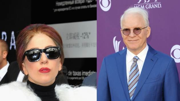 Celebrities such as Lady Gaga and Steve Martin weigh in on the Giants' World Series victory via Twitter -- Getty Images