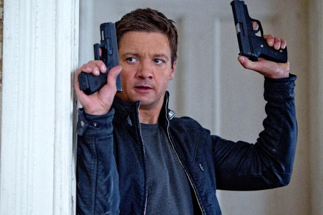 "FILE - This publicity film image released by Universal Pictures shows Jeremy Renner, as Aaron Cross, in a scene from ""The Bourne Legacy."" (AP Photo/Universal Pictures, Mary Cybulski, File)"