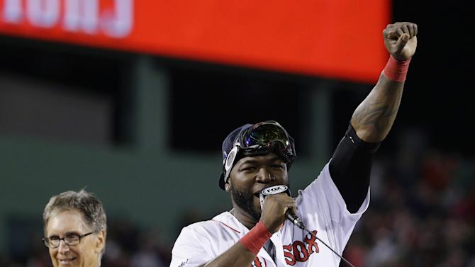 Papi back in World Series after ignoring naysayers