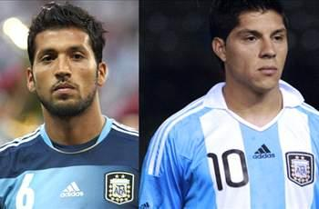 Garay and Perez out of Argentina friendly