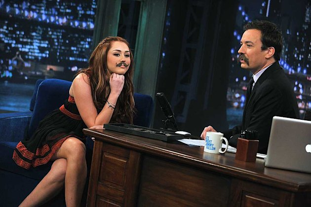 Cyrus Fallon Jimmy Fallon