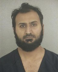 Broward Sheriff's Office booking photograph shows Sheheryar Alam Qazi taken on November 29, 2012 and released to Reuters on December 18, 2012. REUTERS/Broward Sheriff's Office/Handout