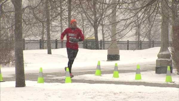 Runners brave winter for benefit race