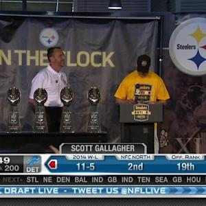 Pittsburgh Steelers pick defensive tackle Leterrius Walton No. 199 in 2015 NFL Draft