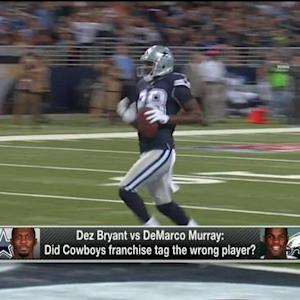 Did the Dallas Cowboys franchise tag the wrong player?