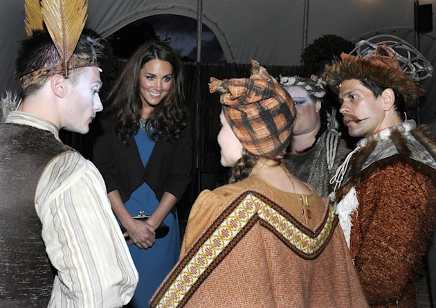 Duchess Of Cambridge Attends Performance Of 'The Lion, The Witch & The Wardrobe' In Kensington Gardens