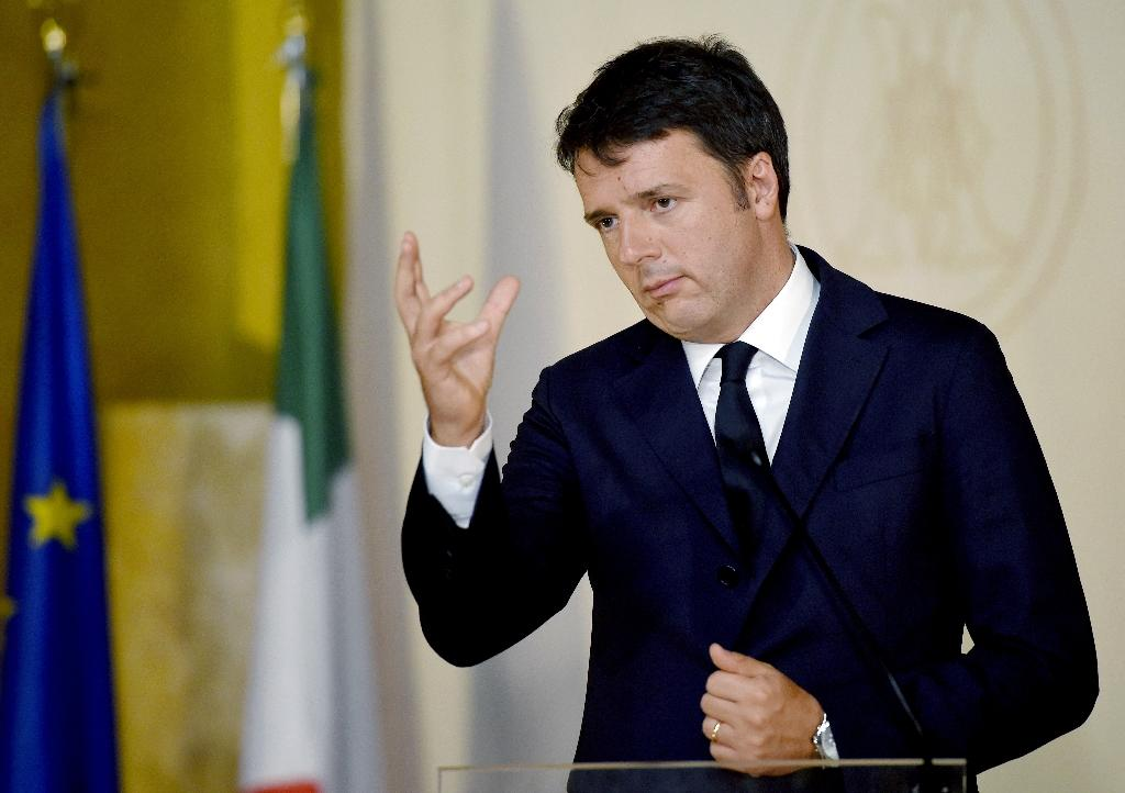 Italian Senate to vote on own demise in coup for PM Renzi