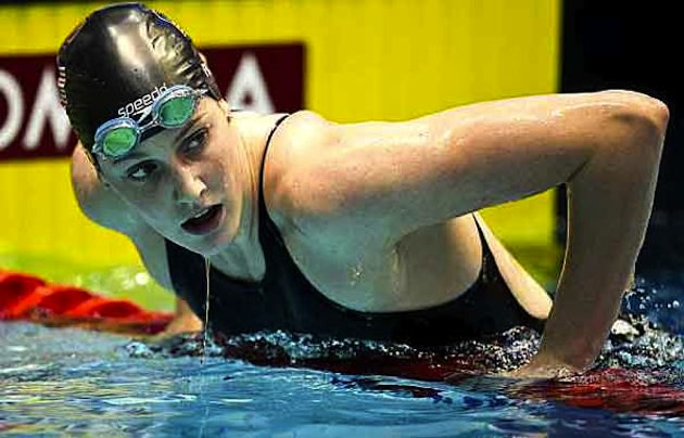 High school junior and U.S. Olympic hopeful Missy Franklin &#x002014; Getty Images